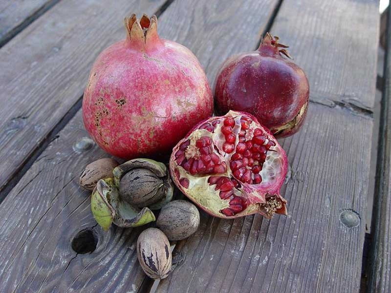 Pecans and Pomegranates